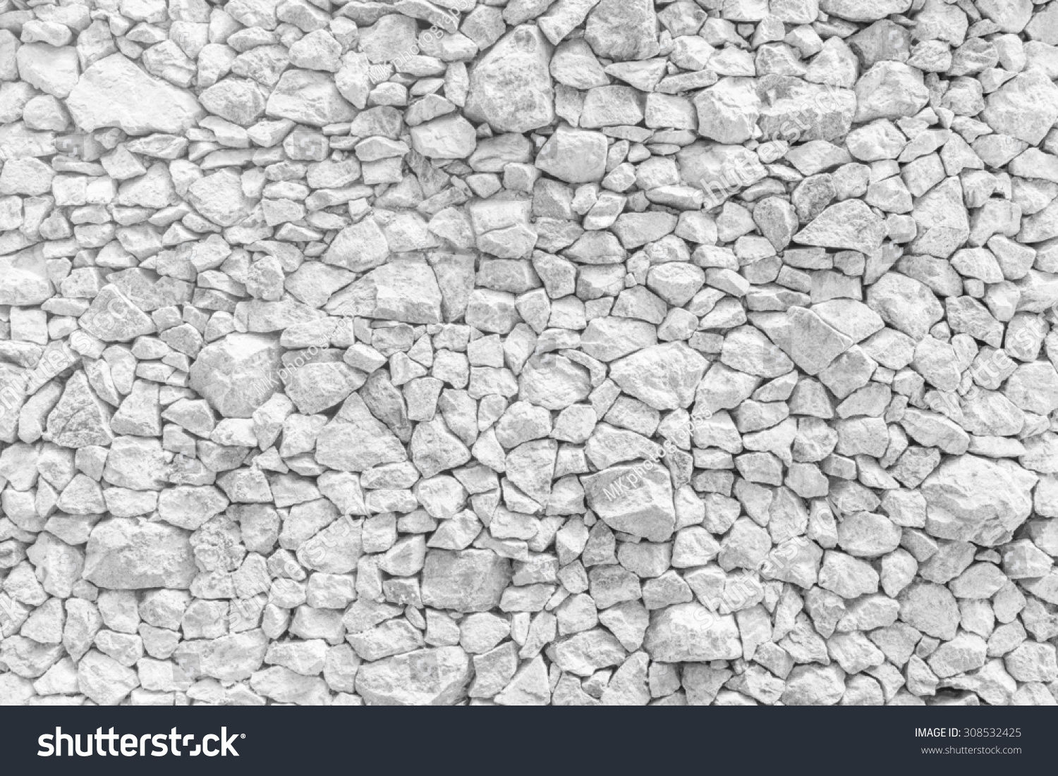 white stone walls modern look structure stock photo 308532425