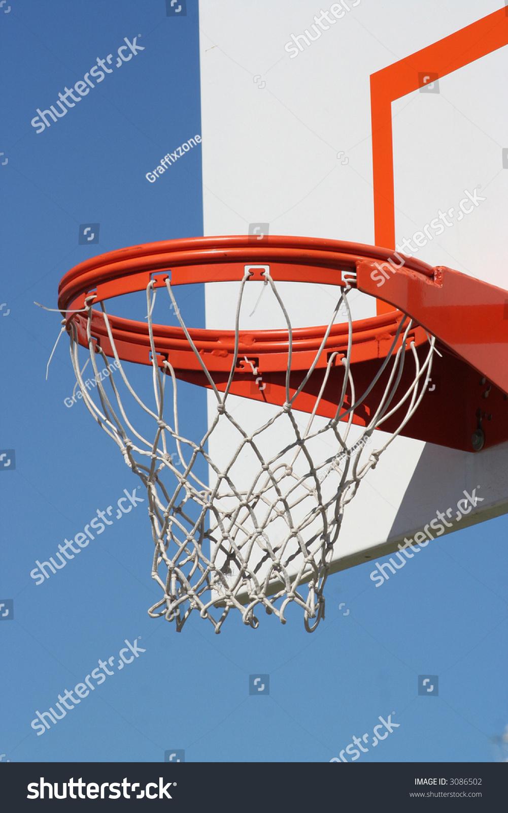 close side view basketball hoop stock photo 3086502 shutterstock