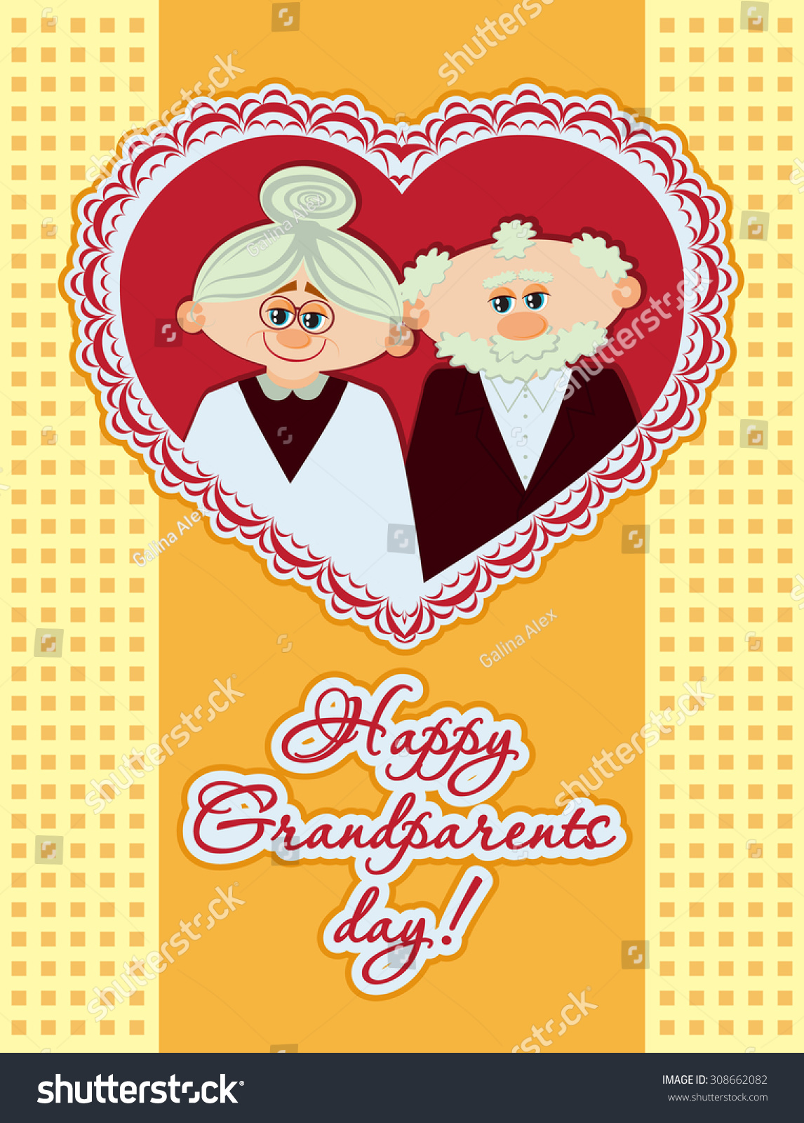 Happy grandparents day ideal for postcards greeting cards poster id 308662082 m4hsunfo