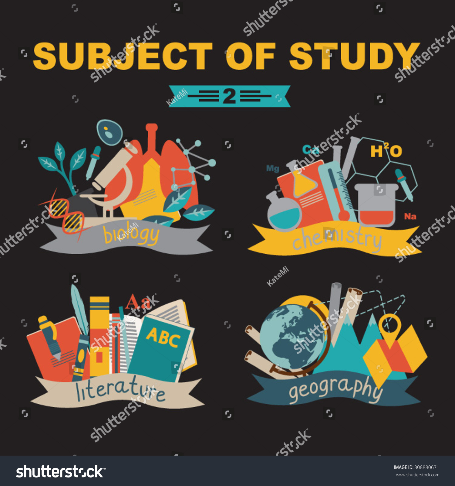 Geography how to study multiple subjects in college