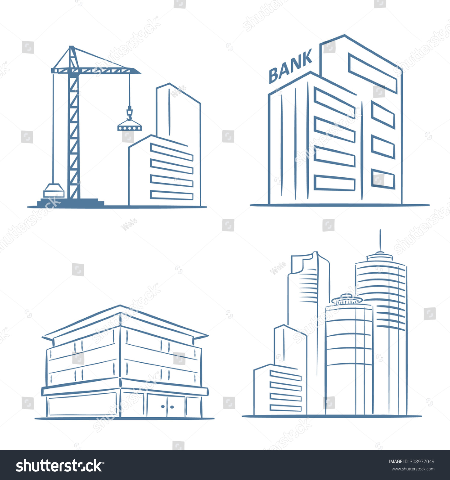 Commercial Real Estate Draft Graphic Design