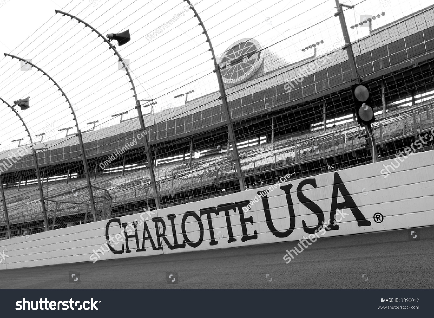 Lowes Motor Speedway Charlotte North Carolina Stock Photo