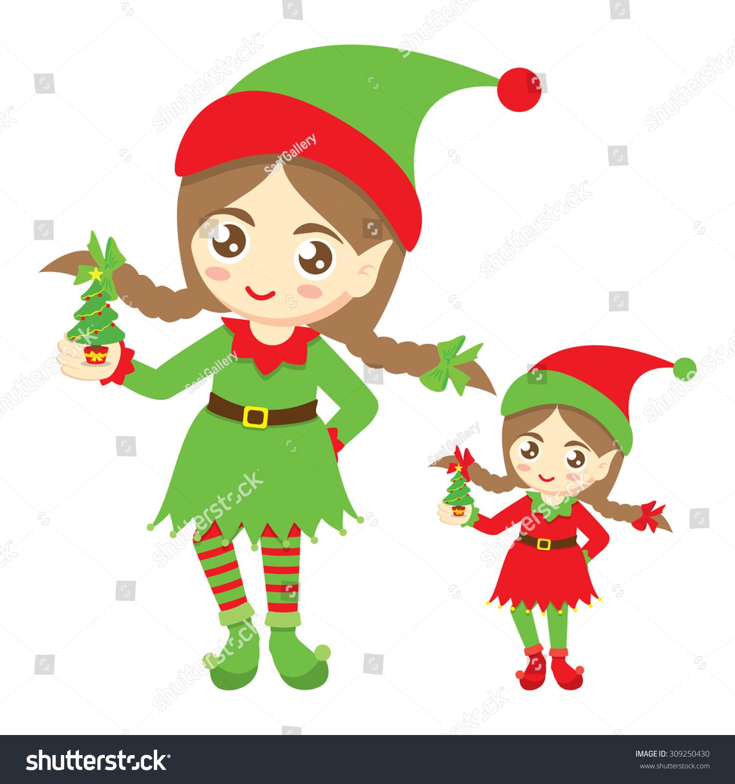 elf for christmas - girl elf & magical reward kit