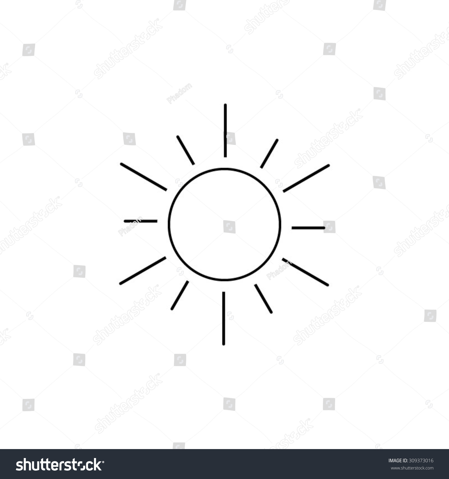 Line Drawing Sun Vector : Sun line art pictures to pin on pinterest daddy