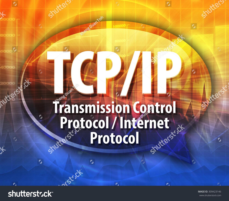 Схема передачи данных по протоколу tcp