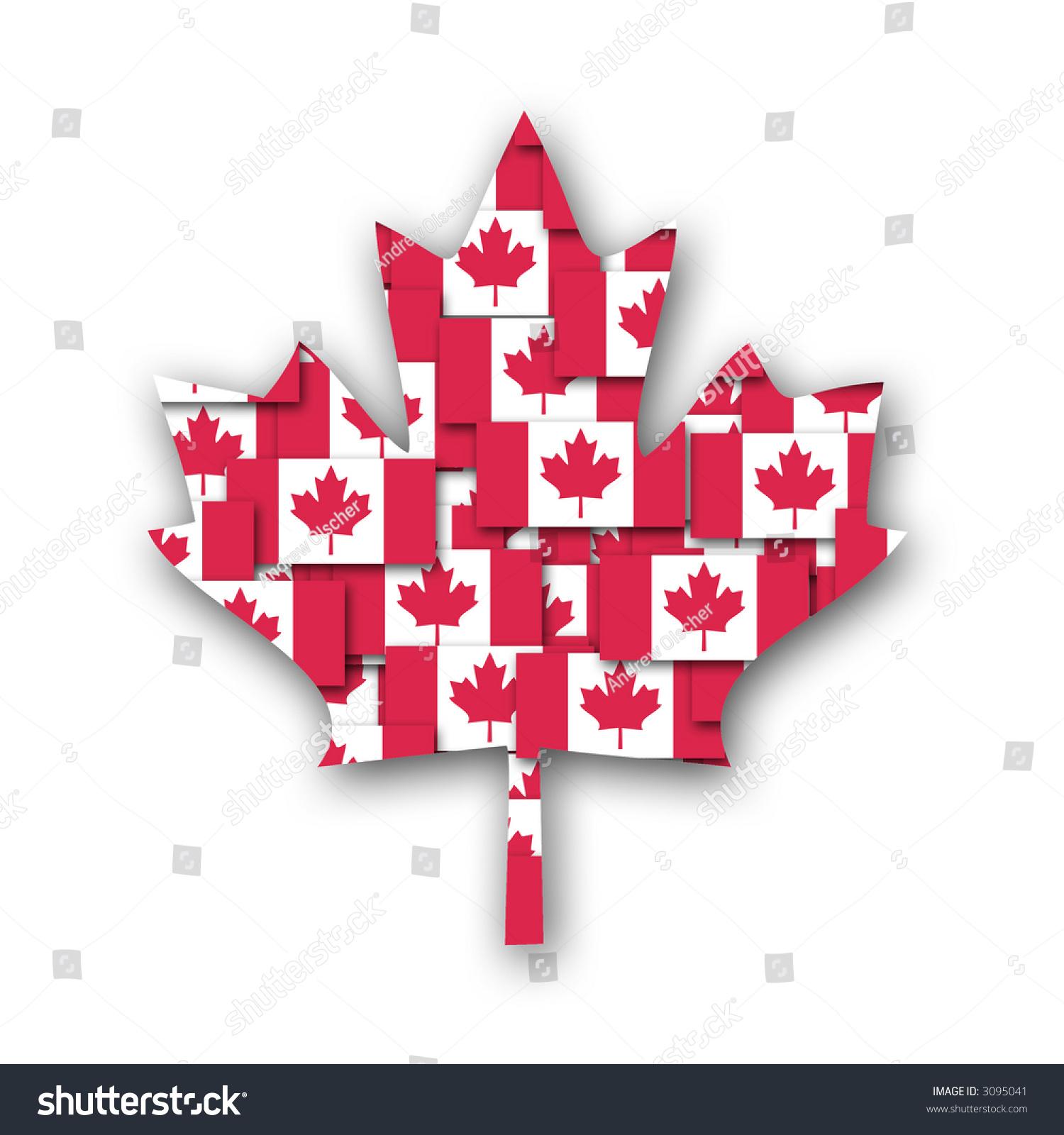 canadian maple leaf textured canadian flag stock illustration