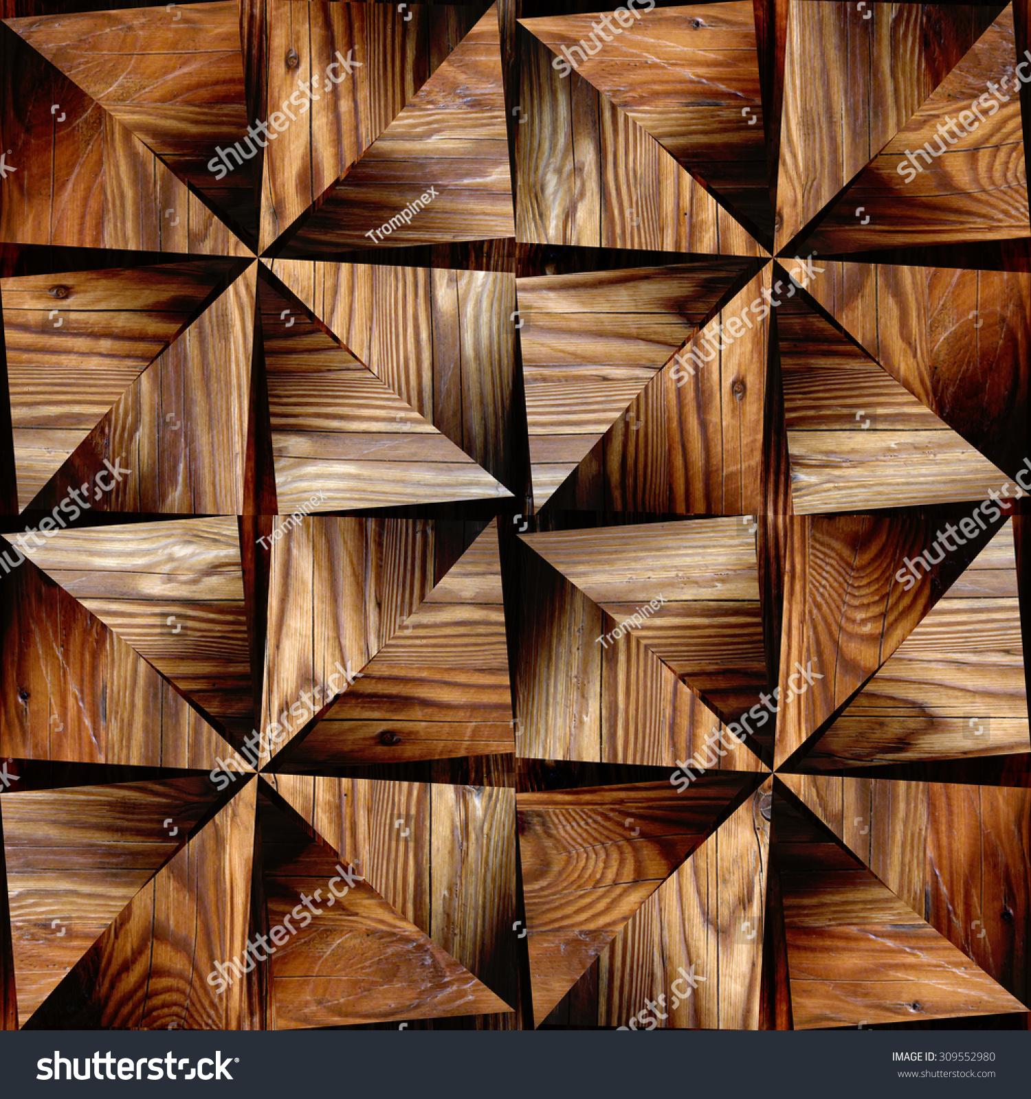 Interior Design Wallpaper - Triangular Style - Abstract ...