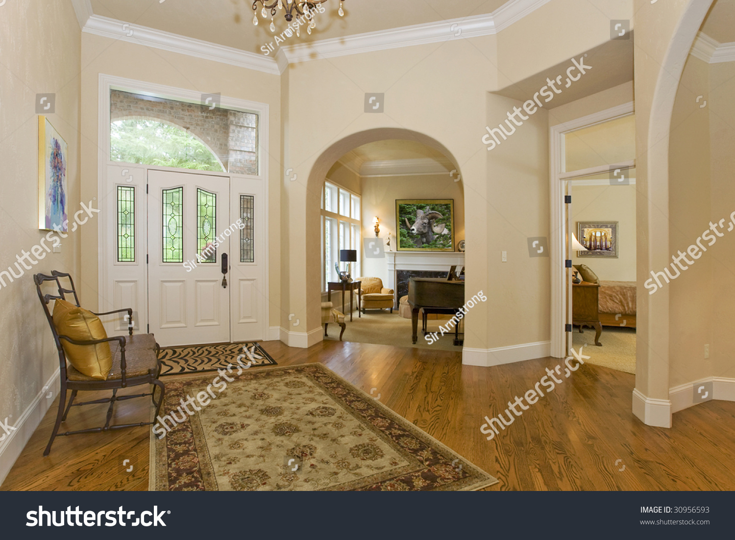 entry hall stock photo 30956593 - shutterstock