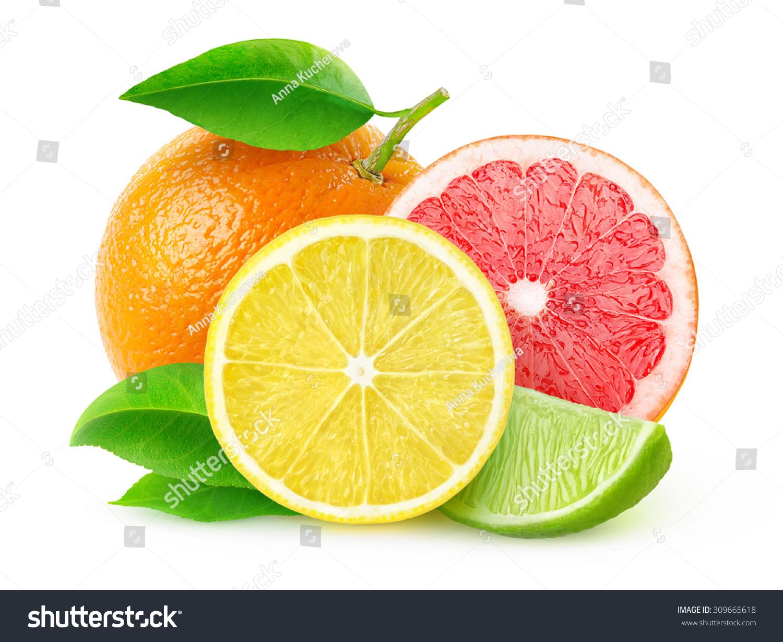 Isolated Citrus Fruits Pieces Lemon Lime Stock Photo Auto Fujidenzo Washing Machine Wiring Diagram