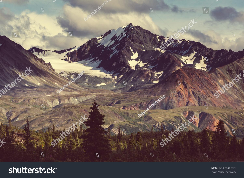 Landscapes on Denali highway.Alaska. Instagram filter. #309705941