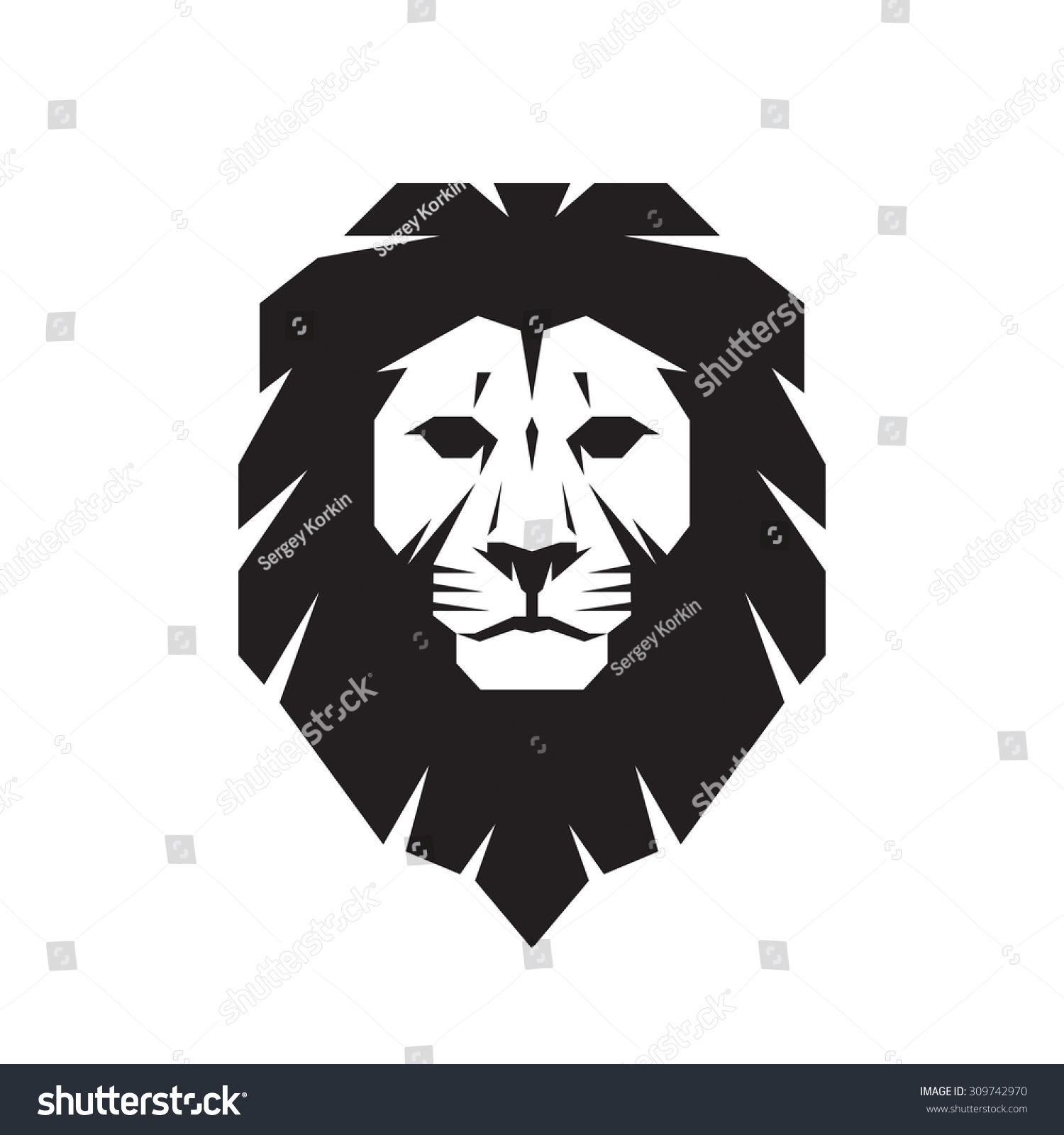 Gallery For gt Lion Head Profile Silhouette