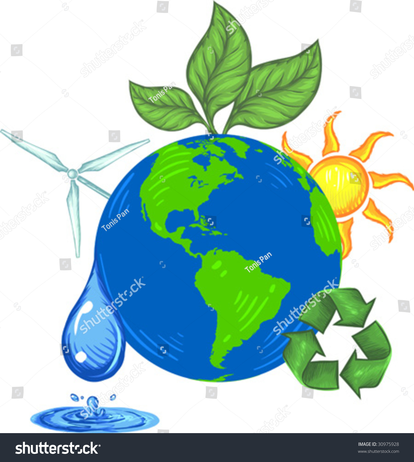 clipart save the earth - photo #37