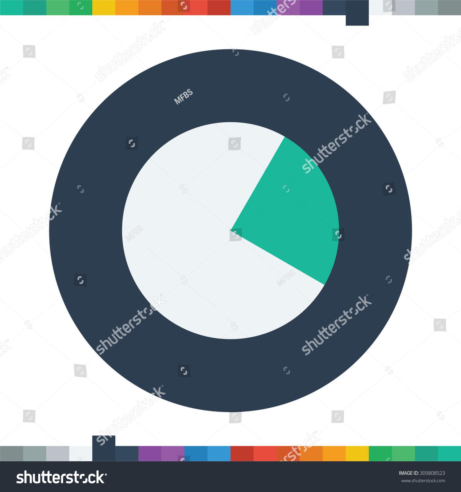 Segment pie chart iconcircle diagram business stock vector segment pie chart iconcircle diagram business icon ccuart Images