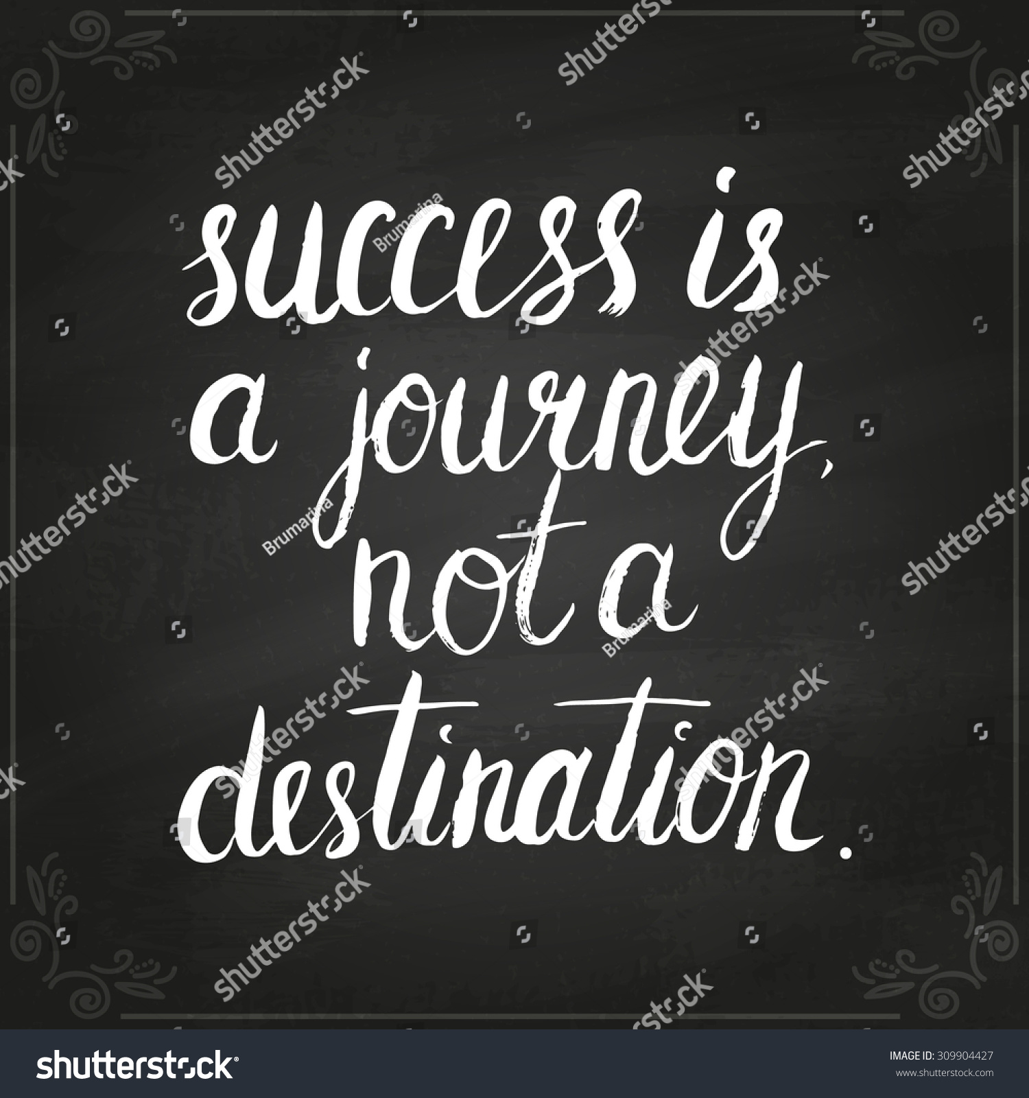 essay on success is a journey not a destination