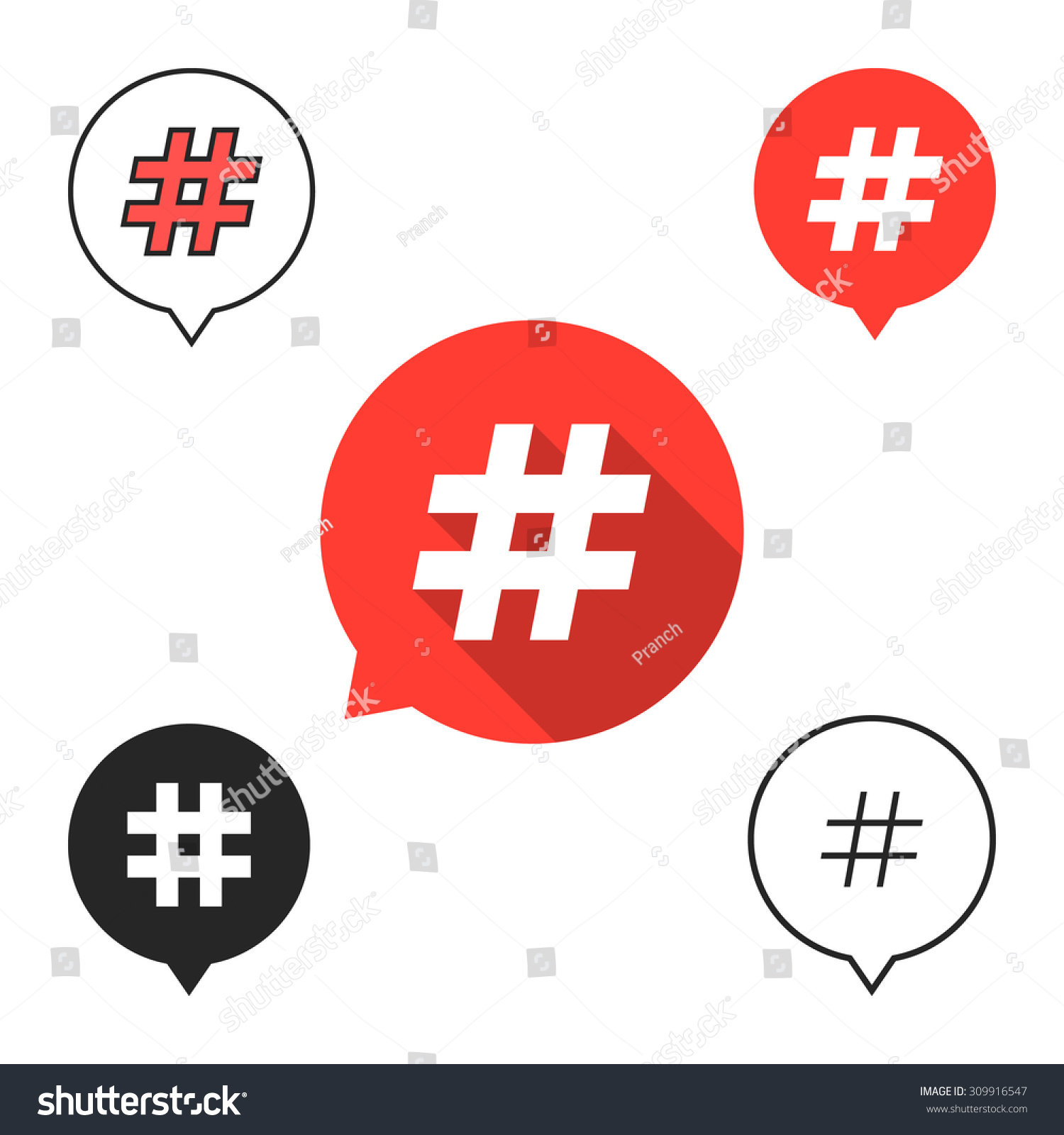 Number Sign Vector Wiring Diagrams Diagramofseriescircuitforkidsjpg Set Speech Bubbles Hashtag Icon Concept Stock Blank