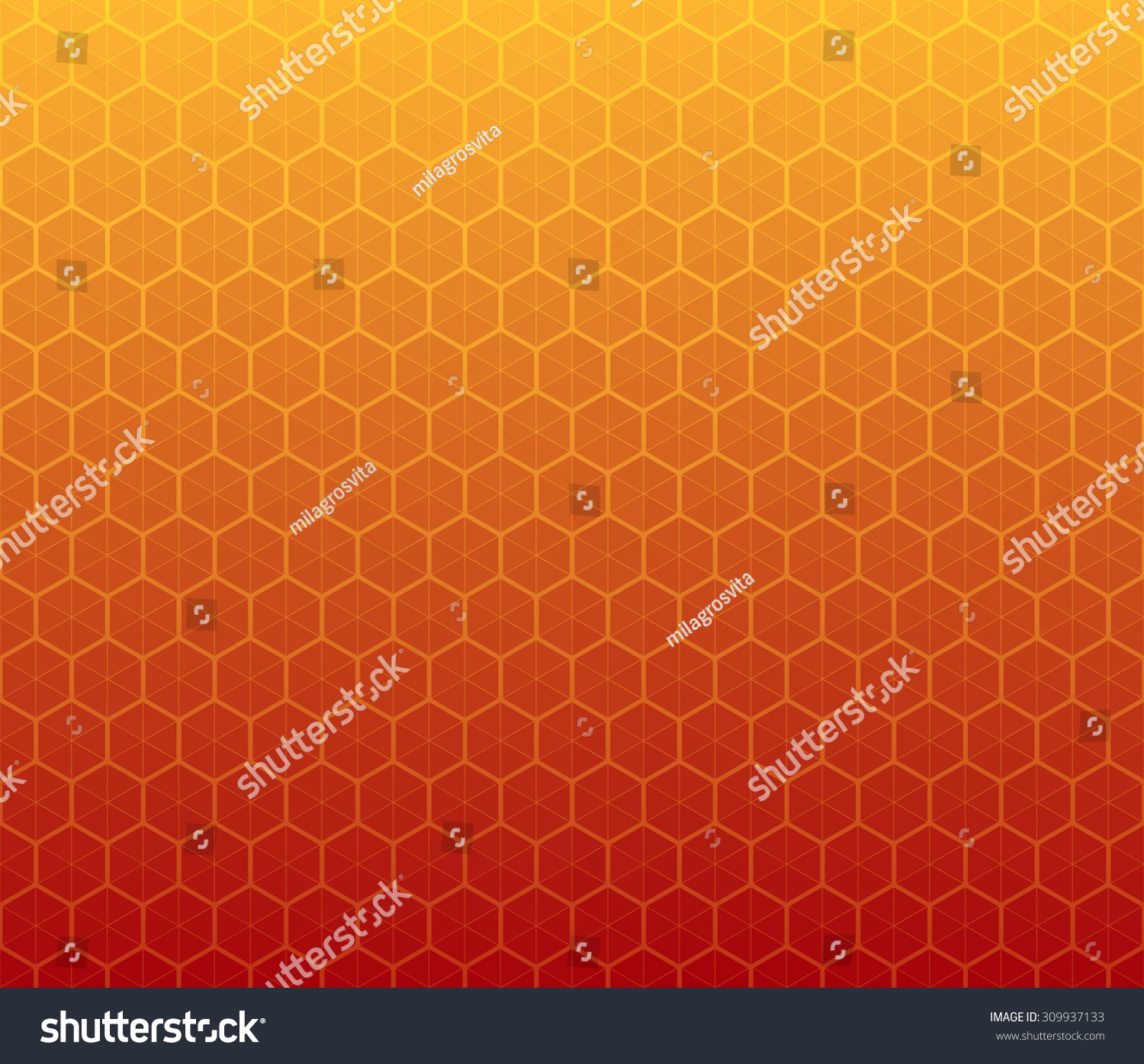 Honeycomb Inspired Abstract Geometric Background Hexagons