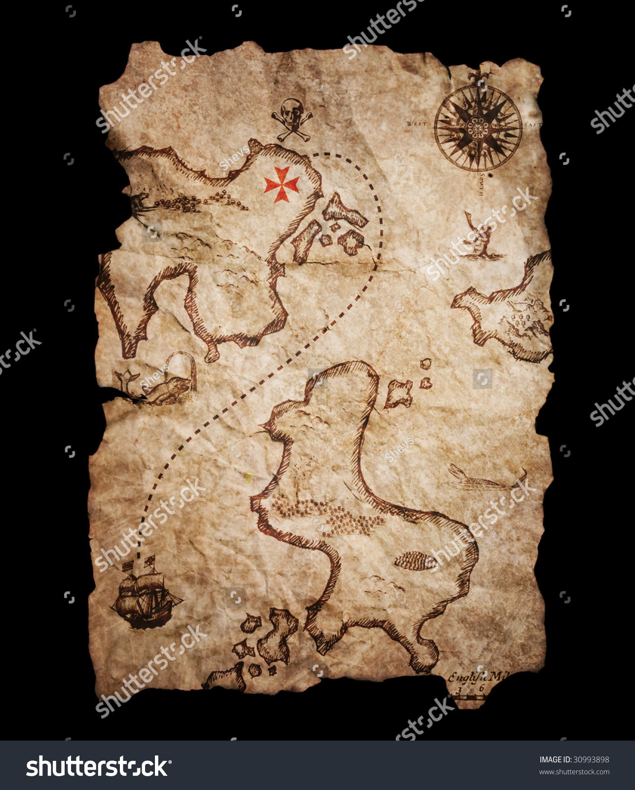simple treasure maps vintage - photo #40