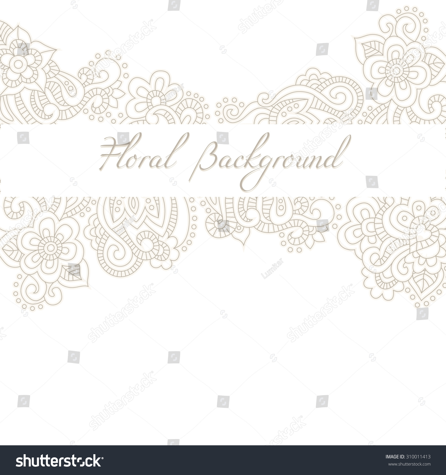 Wedding invitation anniversary card template romantic stock vector wedding invitation or anniversary card template with romantic floral background and sample text subtle stopboris Choice Image