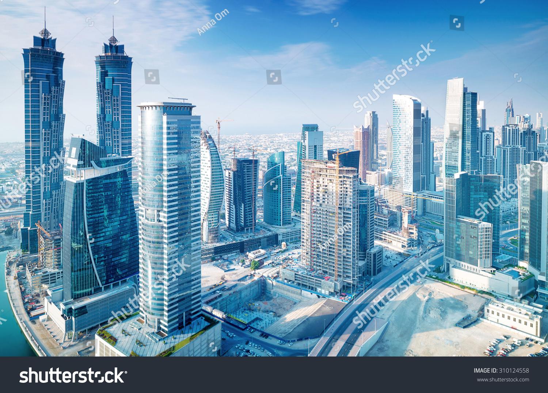 stock photo beautiful dubai city bird eye view on majestic cityscape with modern new buildings daytime 310124558 - asdasd