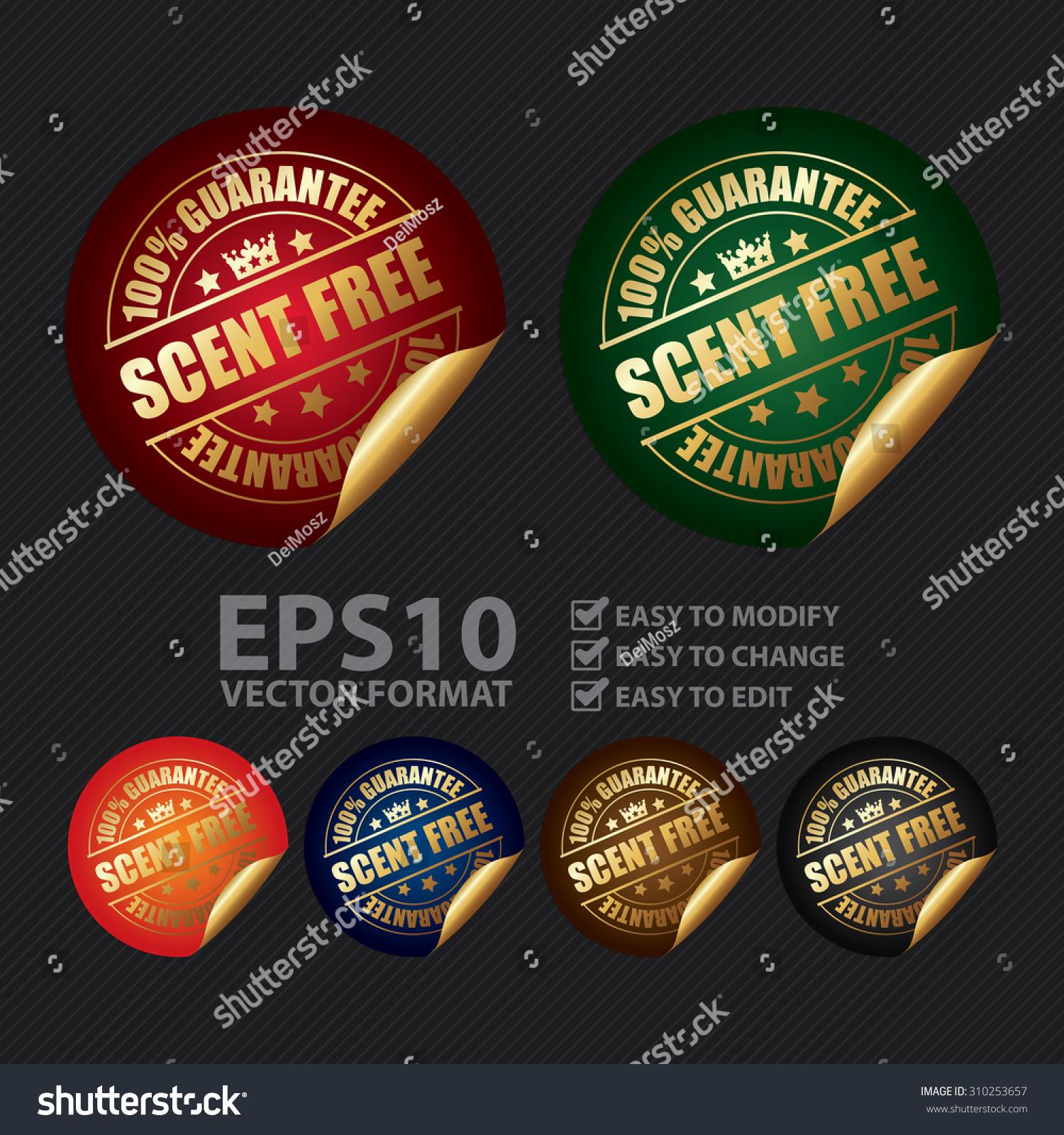 stock-vector-vector-guarantee-scent-free