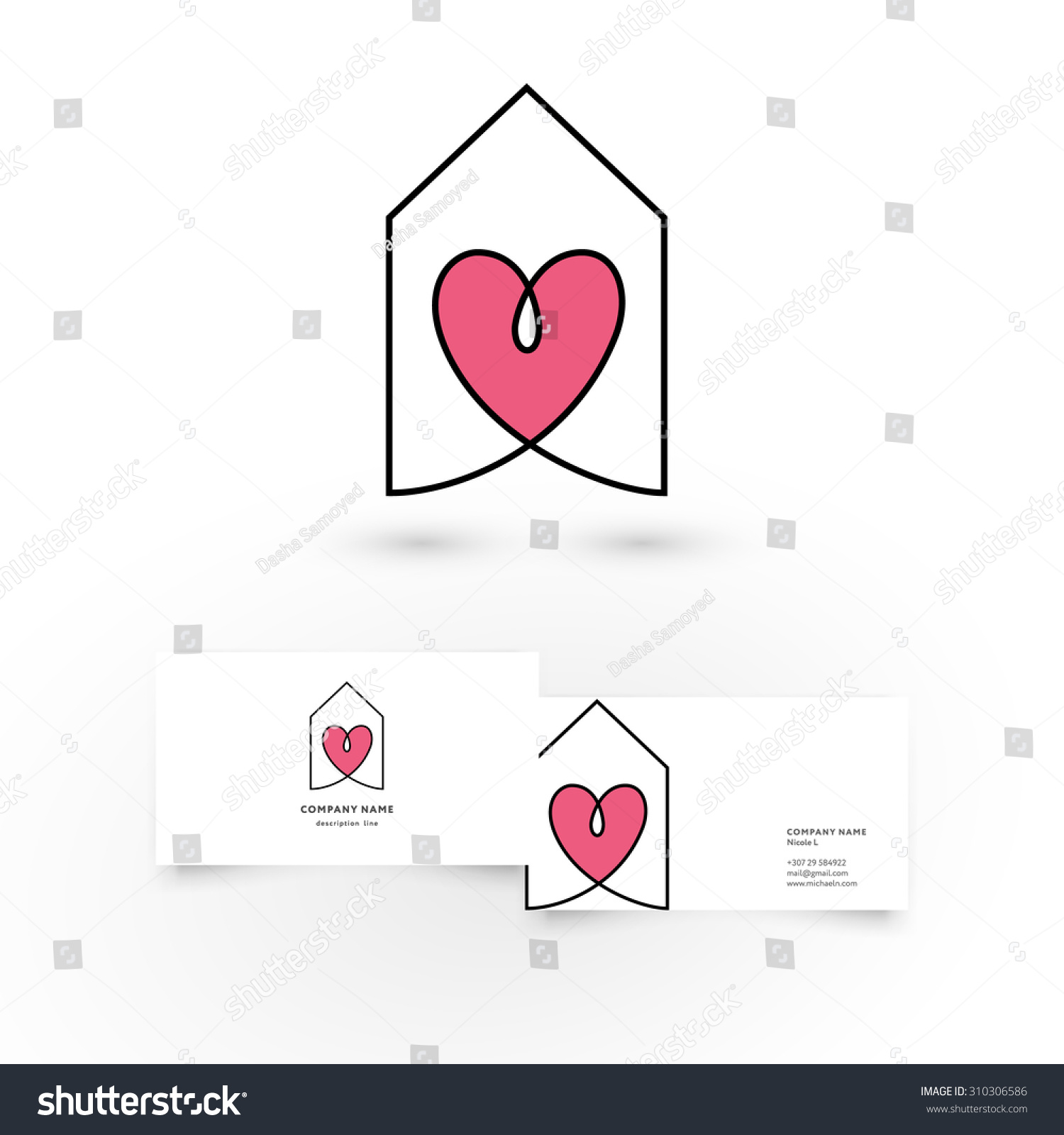 Fresh Photos Of Heart Shaped Business Cards – Business Cards and Resume