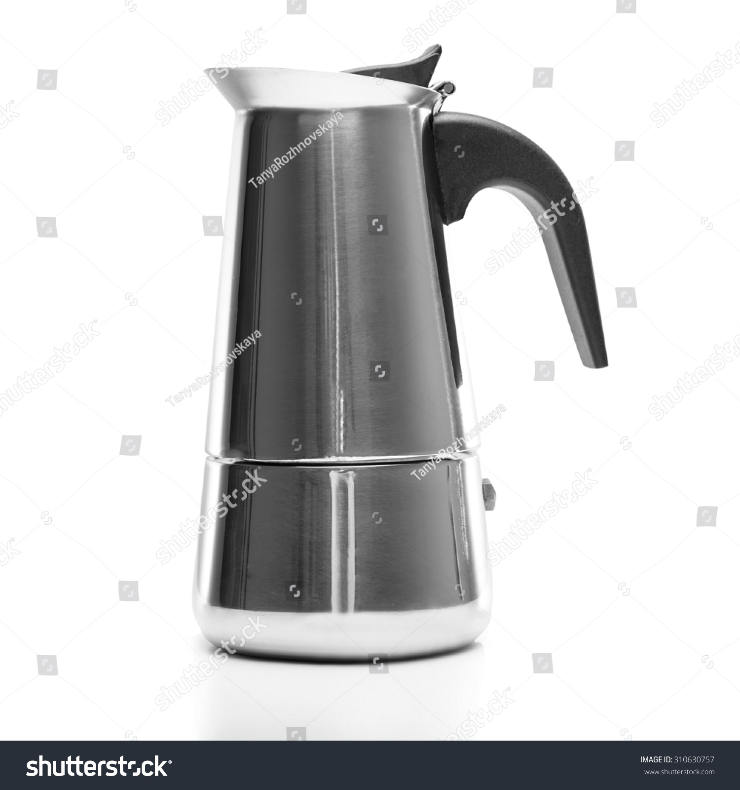 Coffee Maker Z Wave : Coffee Maker. Isolated On A White Background. Stock Photo 310630757 : Shutterstock