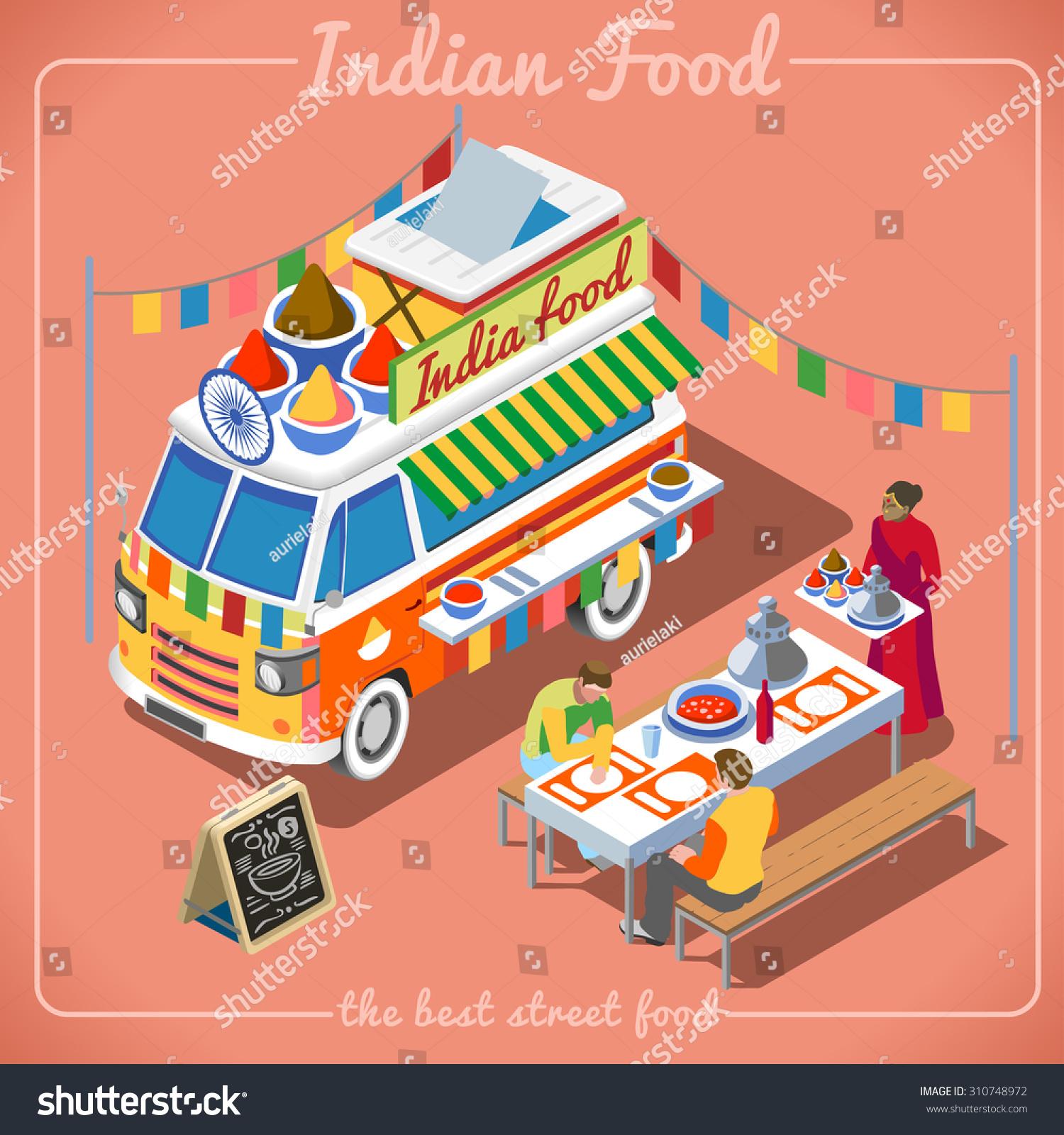 Indian Restaurant Spicy Menu Curry Masala Vector de stock310748972 ...