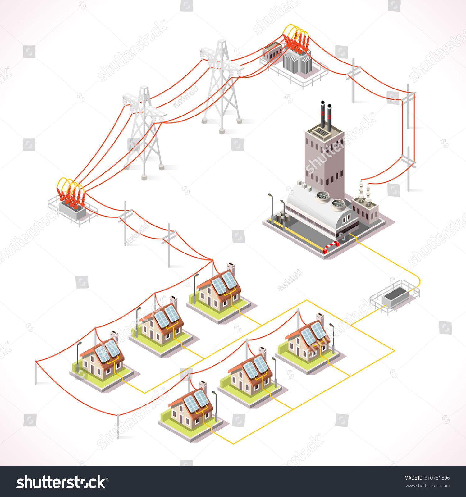 Electricity Distribution Grid