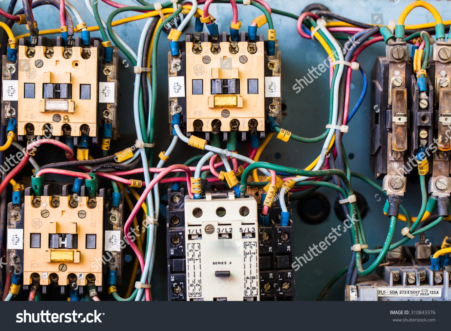 Electrical Circuits Stock Photo Edit Now 310843376 Shutterstock Electricity And