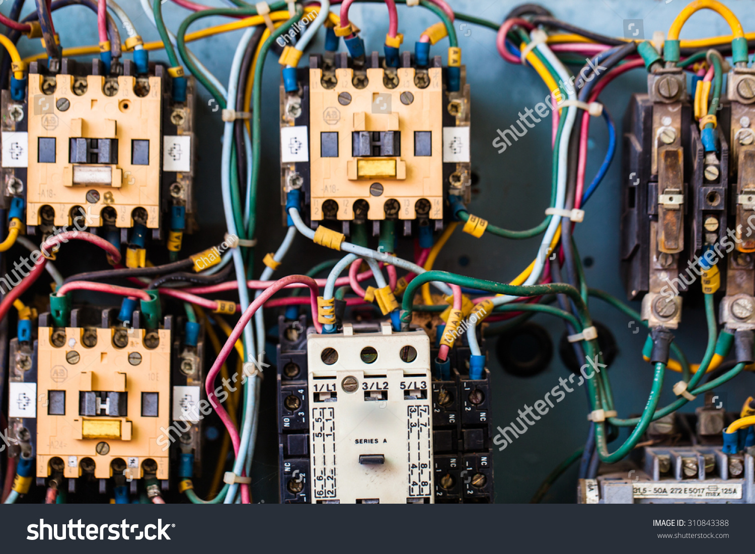 Electrical Circuits Stock Photo Edit Now 310843388 Shutterstock Electric Circuit Model