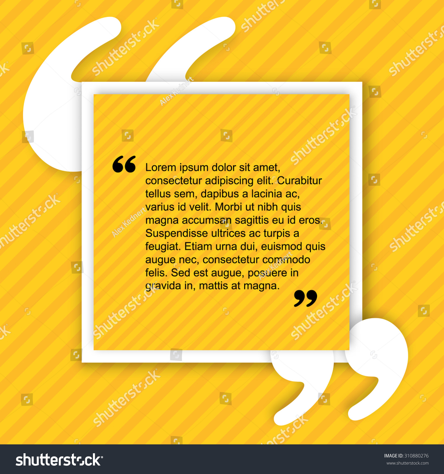 Favorit Quote Creative Citation Typographical Poster Template Stock Vector  UG61
