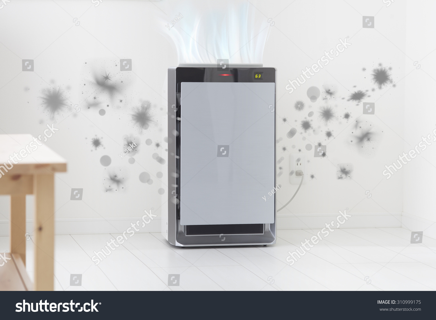 Air Purifier Stock Photo 310999175 : Shutterstock #836748