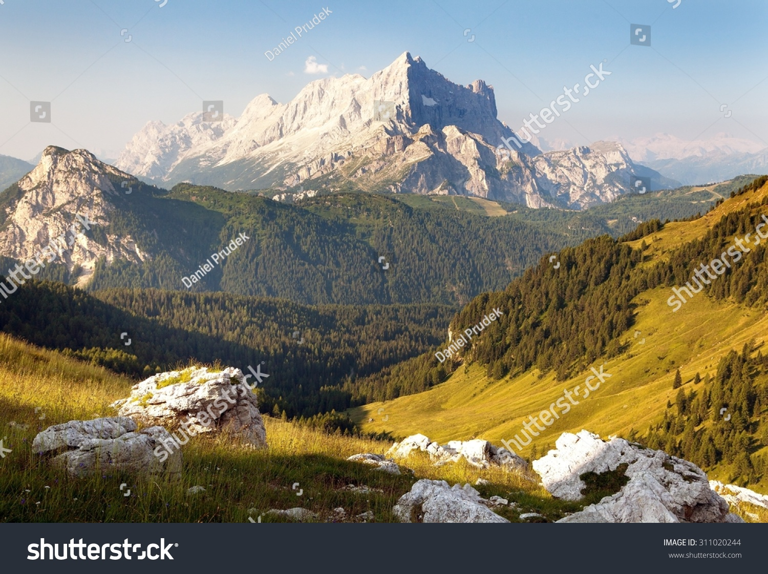 Morning view of mount civetta one of the best mouts in for Best view of dolomites