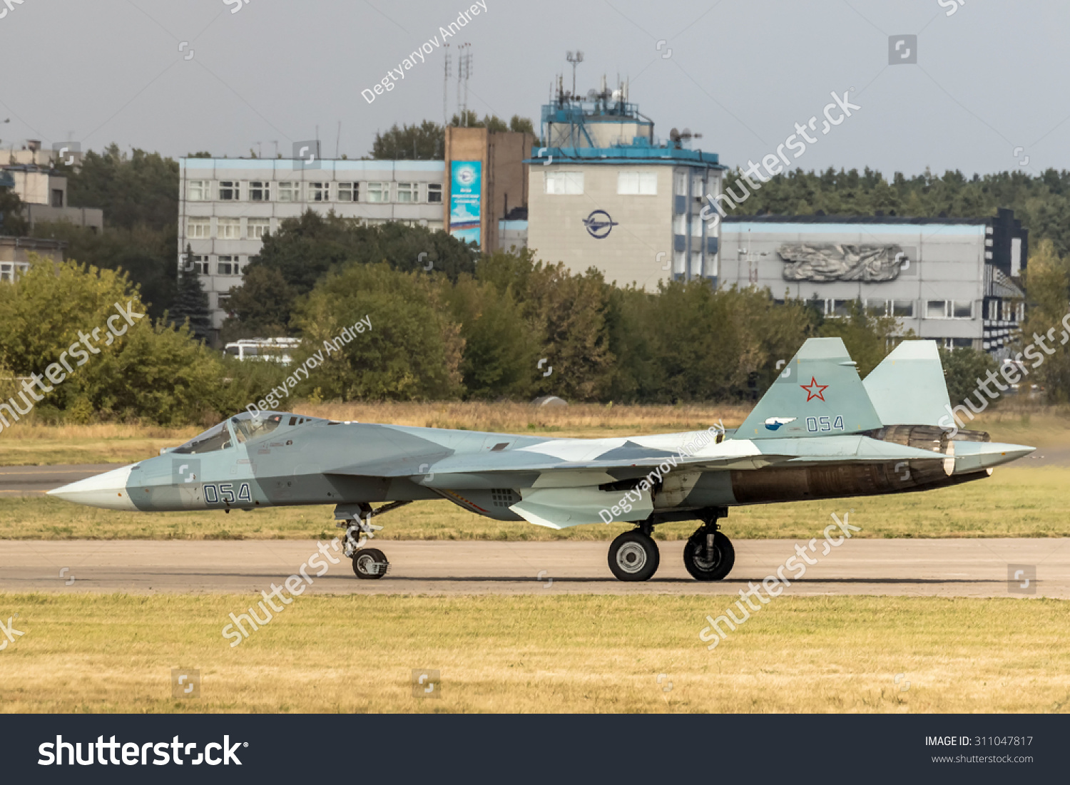 ZHUKOVSKY RUSSIA AUG 27 2015 Sukhoi Stock Photo (Edit Now
