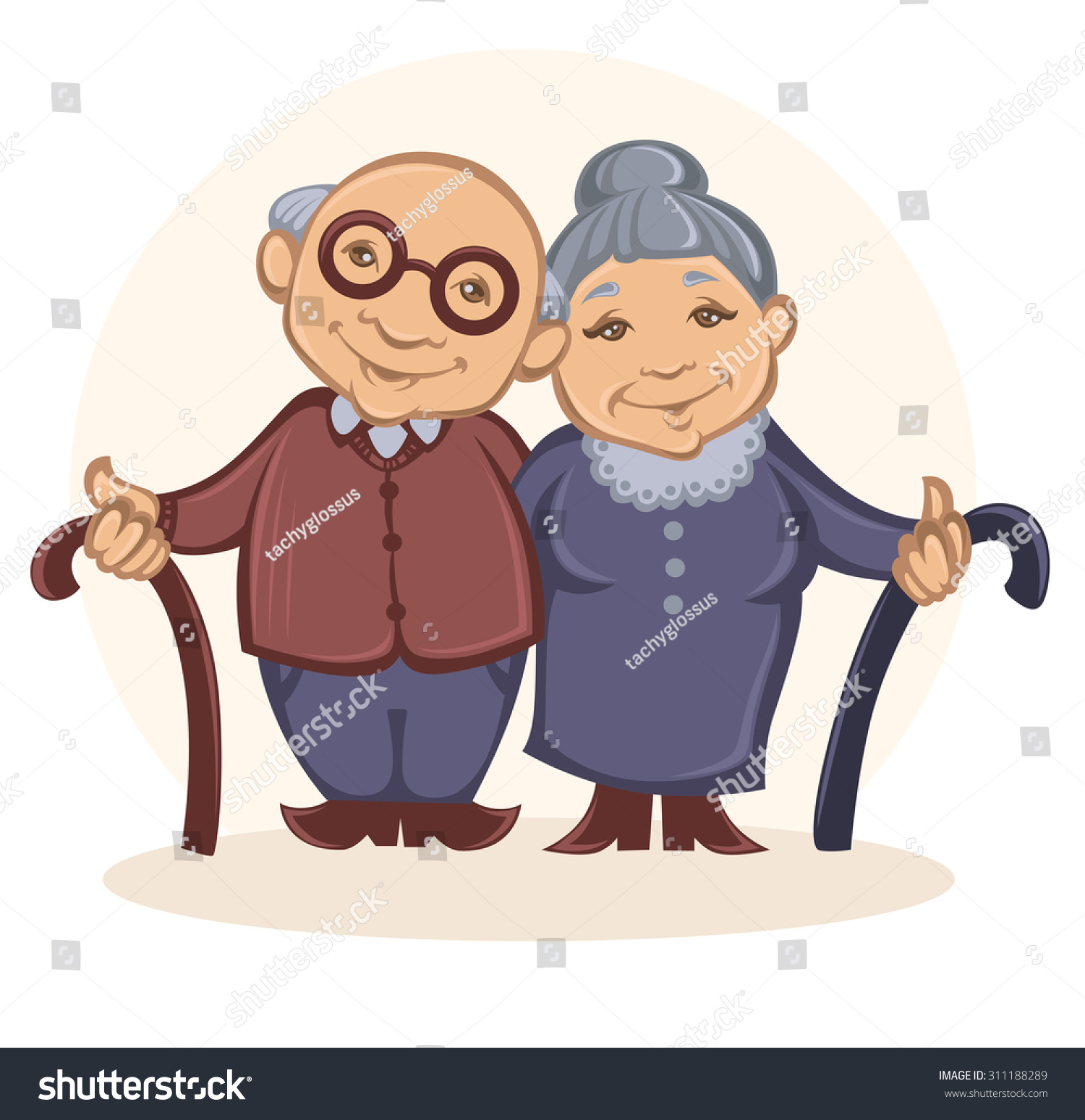 stock-vector-grandparents-vector-image-of-happy-old-people-in-cartoon-style-311188289.jpg
