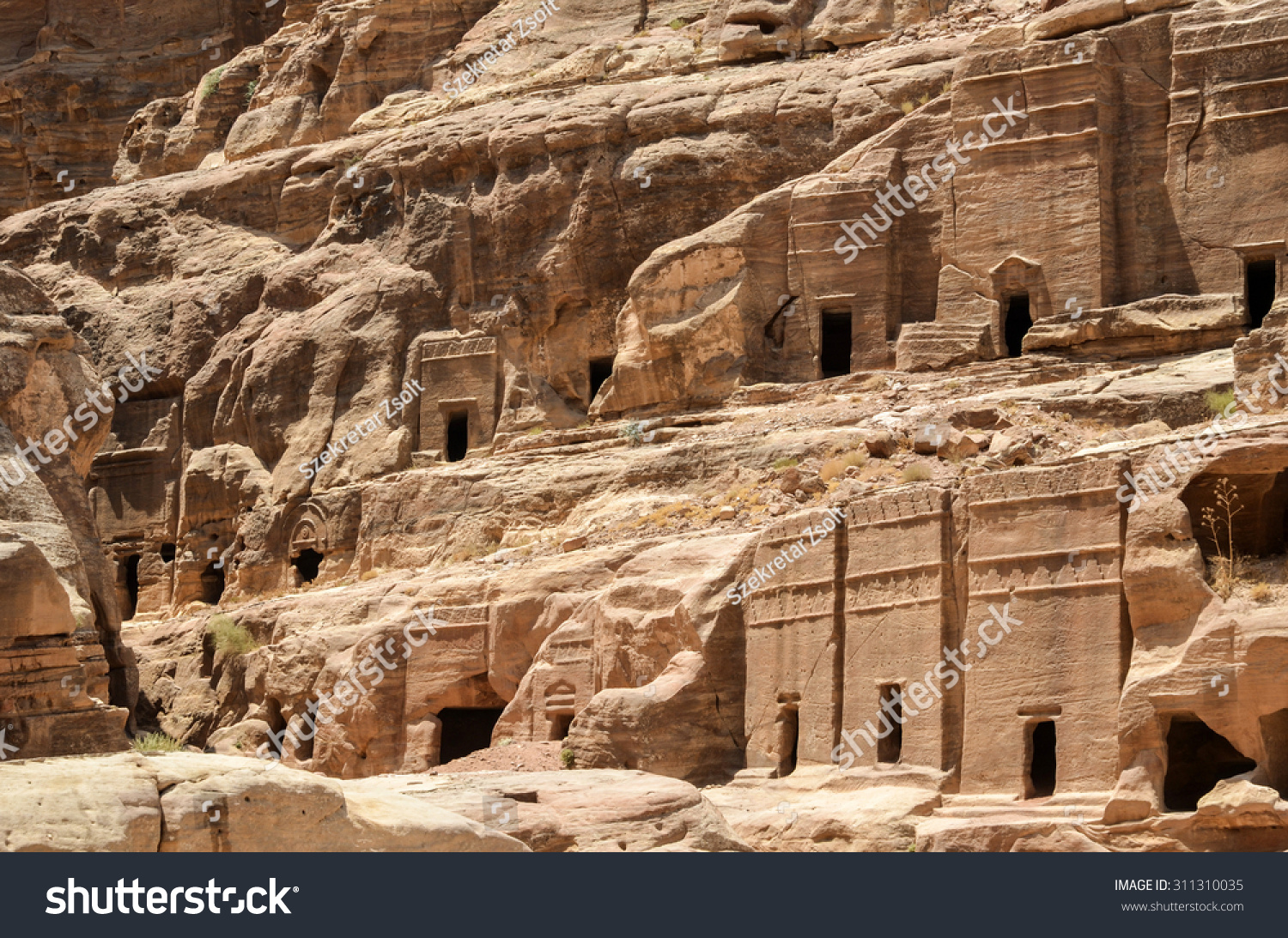 The ancient city, the capital of Idumea (Edom), later the capital of Nabatean 88