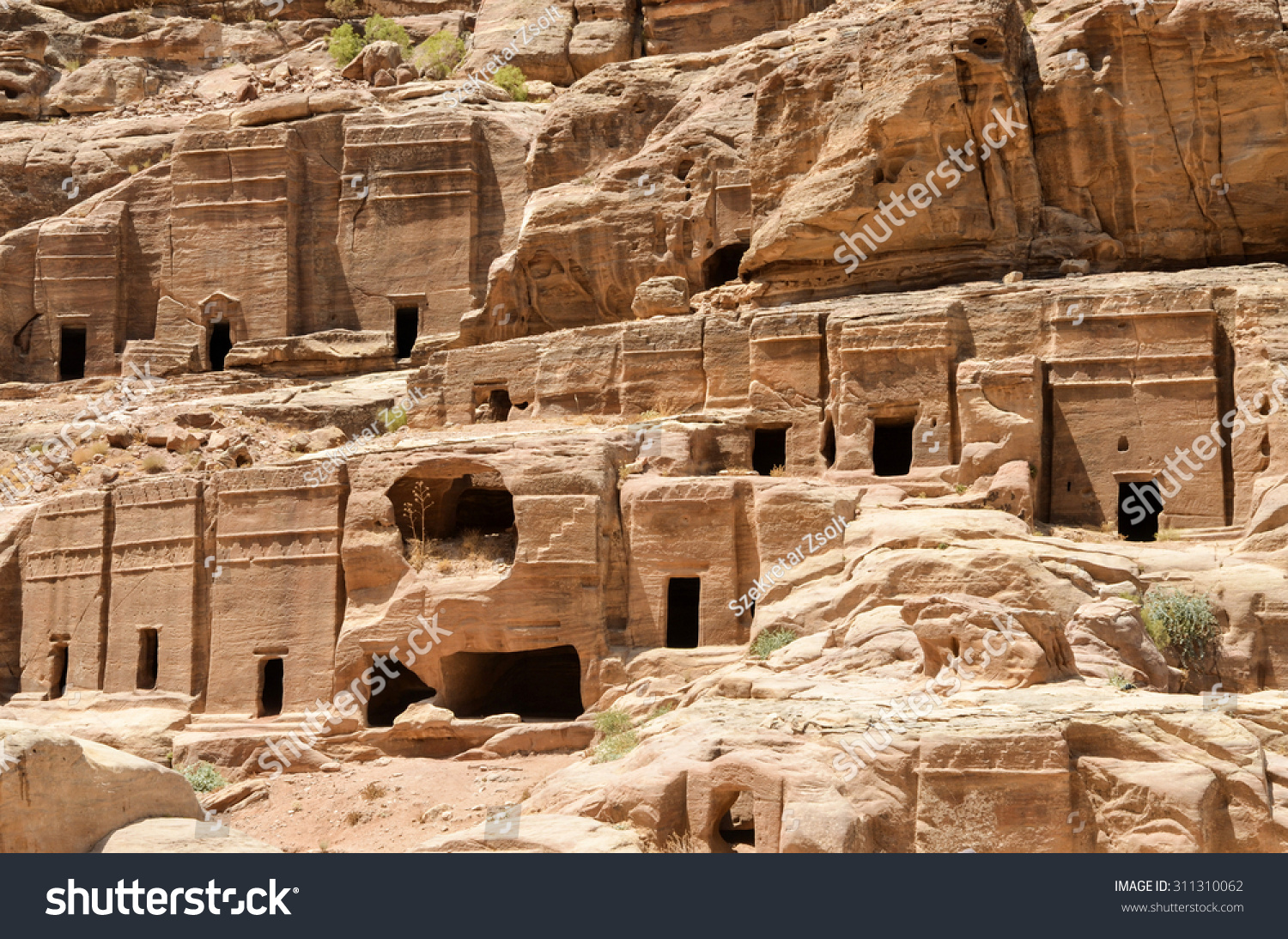 The ancient city, the capital of Idumea (Edom), later the capital of Nabatean 61