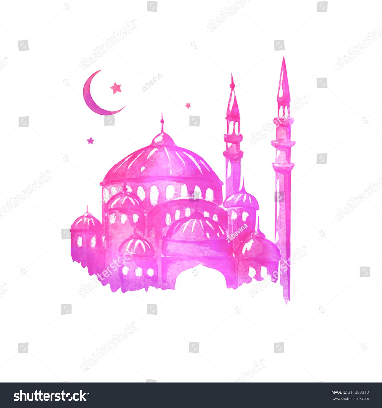 Ramadan kareem eid al adha muslim stock illustration 311383310 eid al adha muslim holiday mosque night ramazan greetings kristyandbryce Choice Image