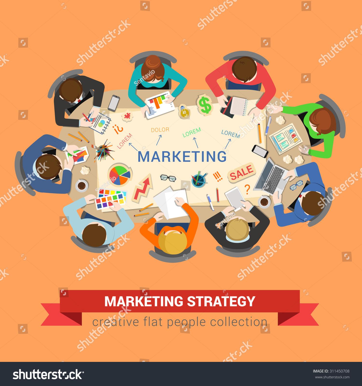 Stock Vector Marketing Sale