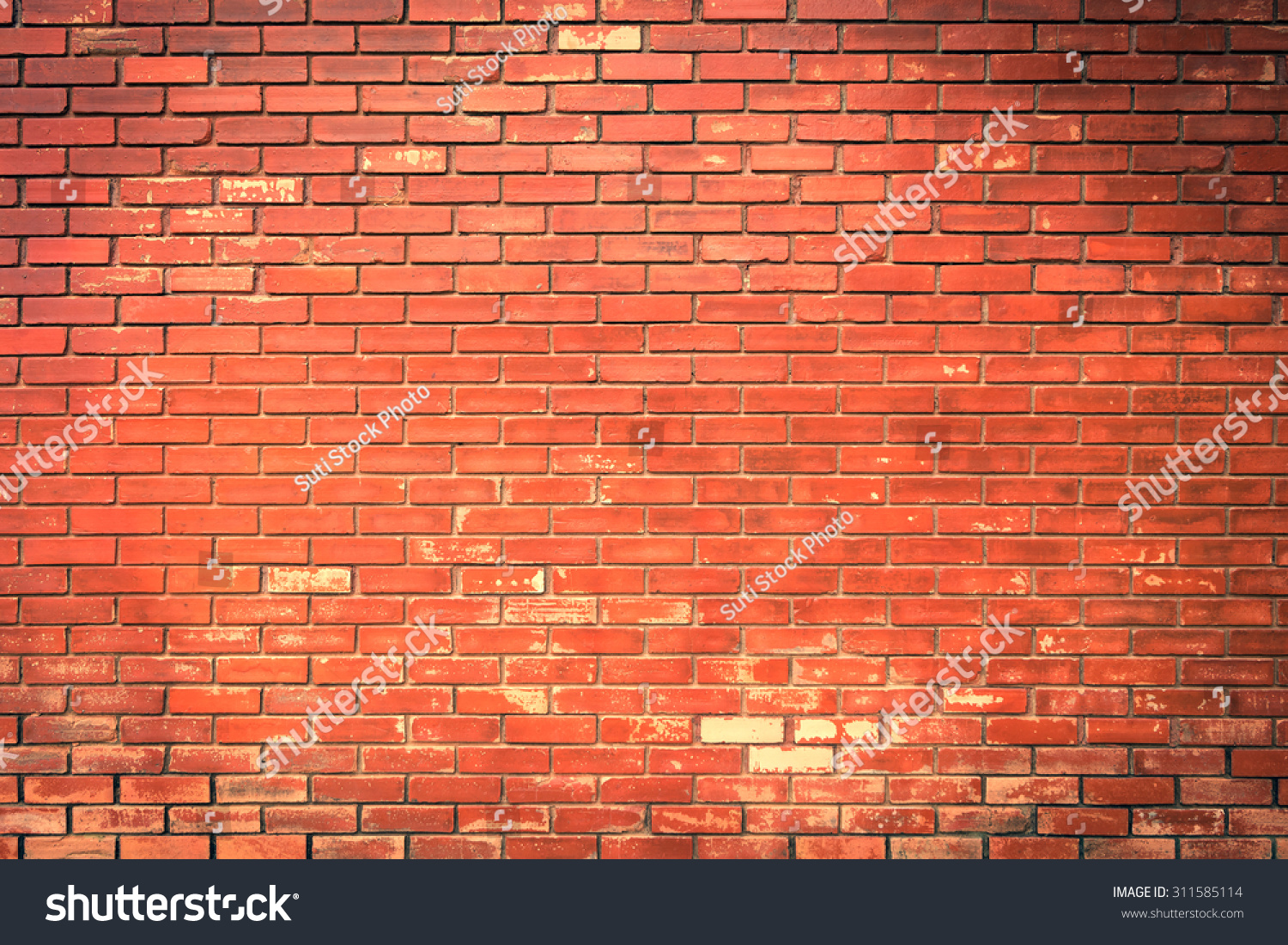 Brick Wall Construction : Brick wall texture background material industry stock