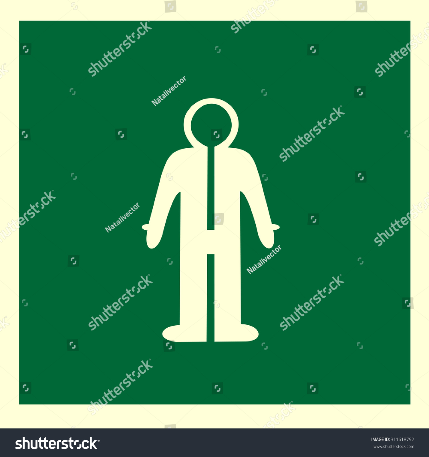 Vector suit dry suit suitable index stock vector 311618792 vector suit dry suit suitable for index information or sign in factories plants biocorpaavc Gallery
