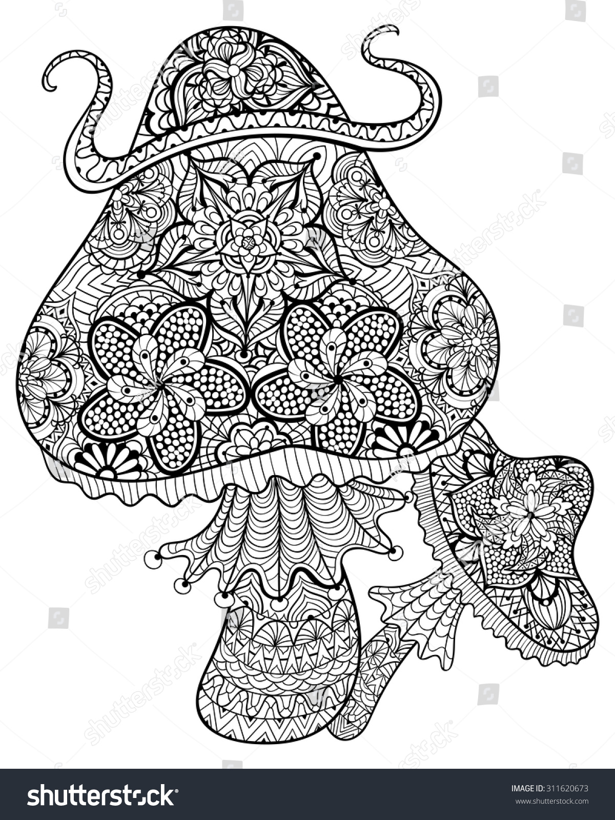 trippy coloring pages mushrooms nutrition - photo#30