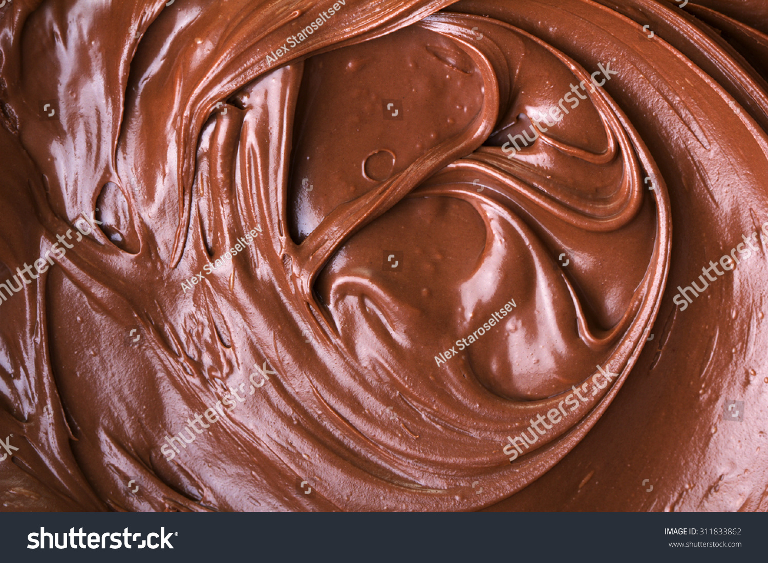 Melted Chocolate Stock Photo 311833862 - Shutterstock