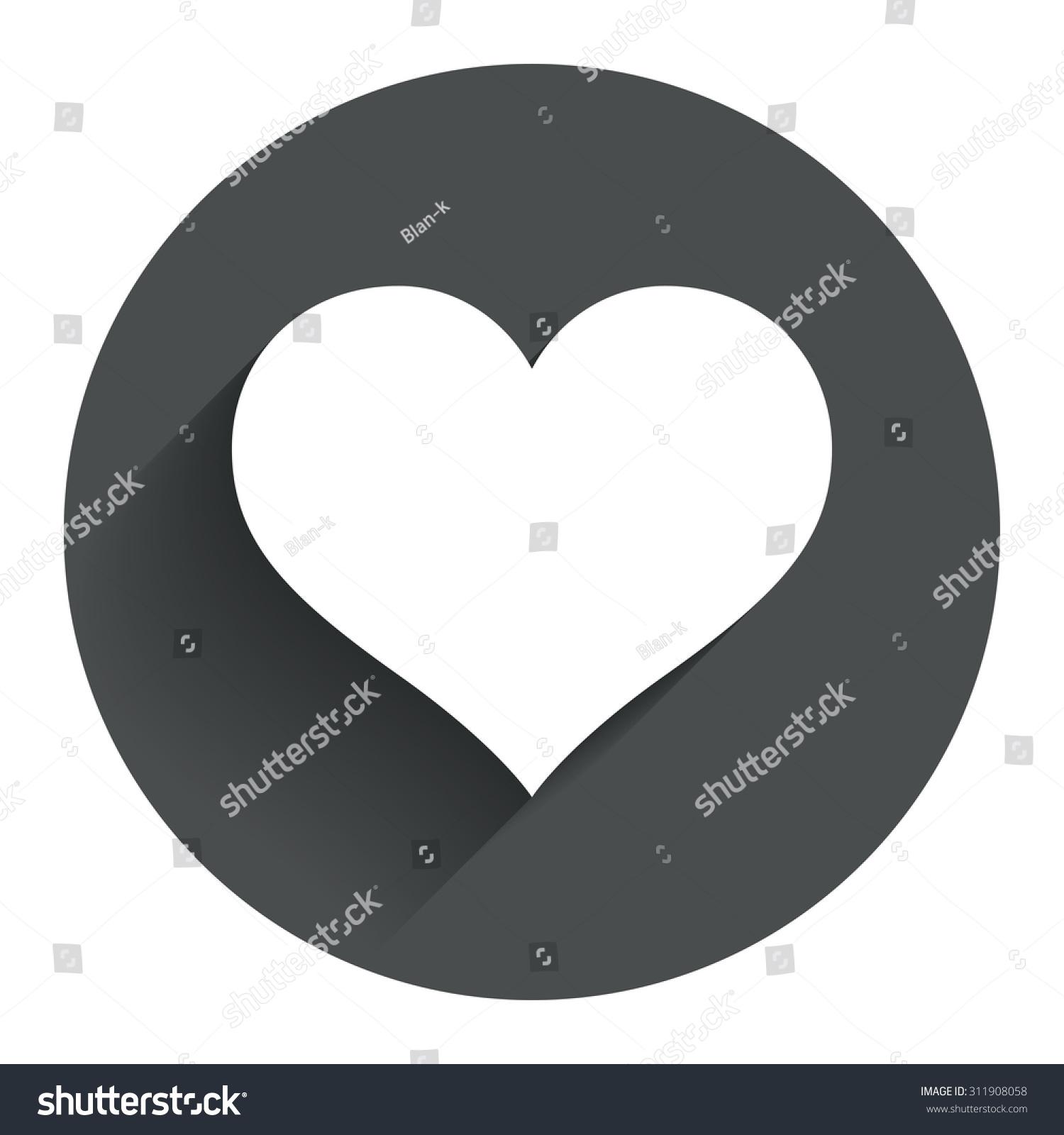 Love icon heart sign symbol circle stock vector 311908058 love icon heart sign symbol circle stock vector 311908058 shutterstock buycottarizona