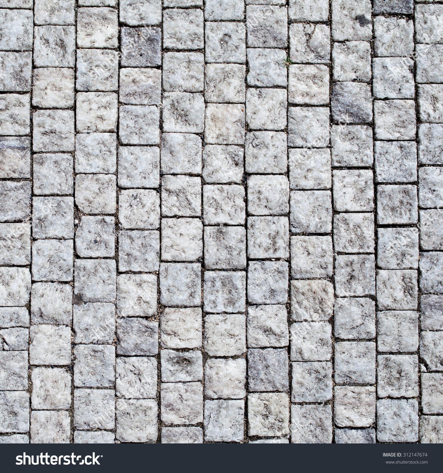 Granite Background Texture : Stone pavement texture granite cobble stoned stock photo