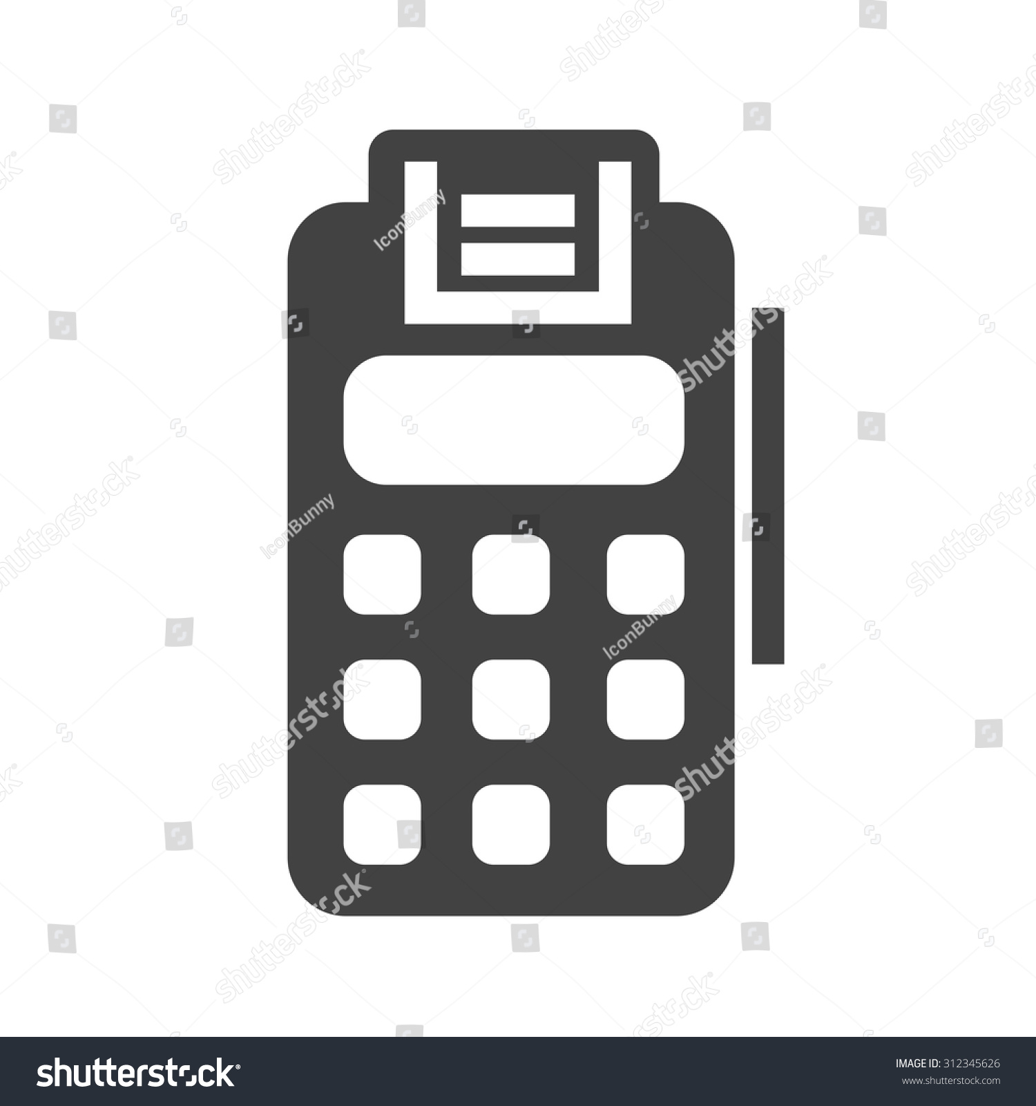 Credit card machines small business gallery free business cards credit card machine for business image collections free business card machine credit icon vector image stock magicingreecefo Image collections