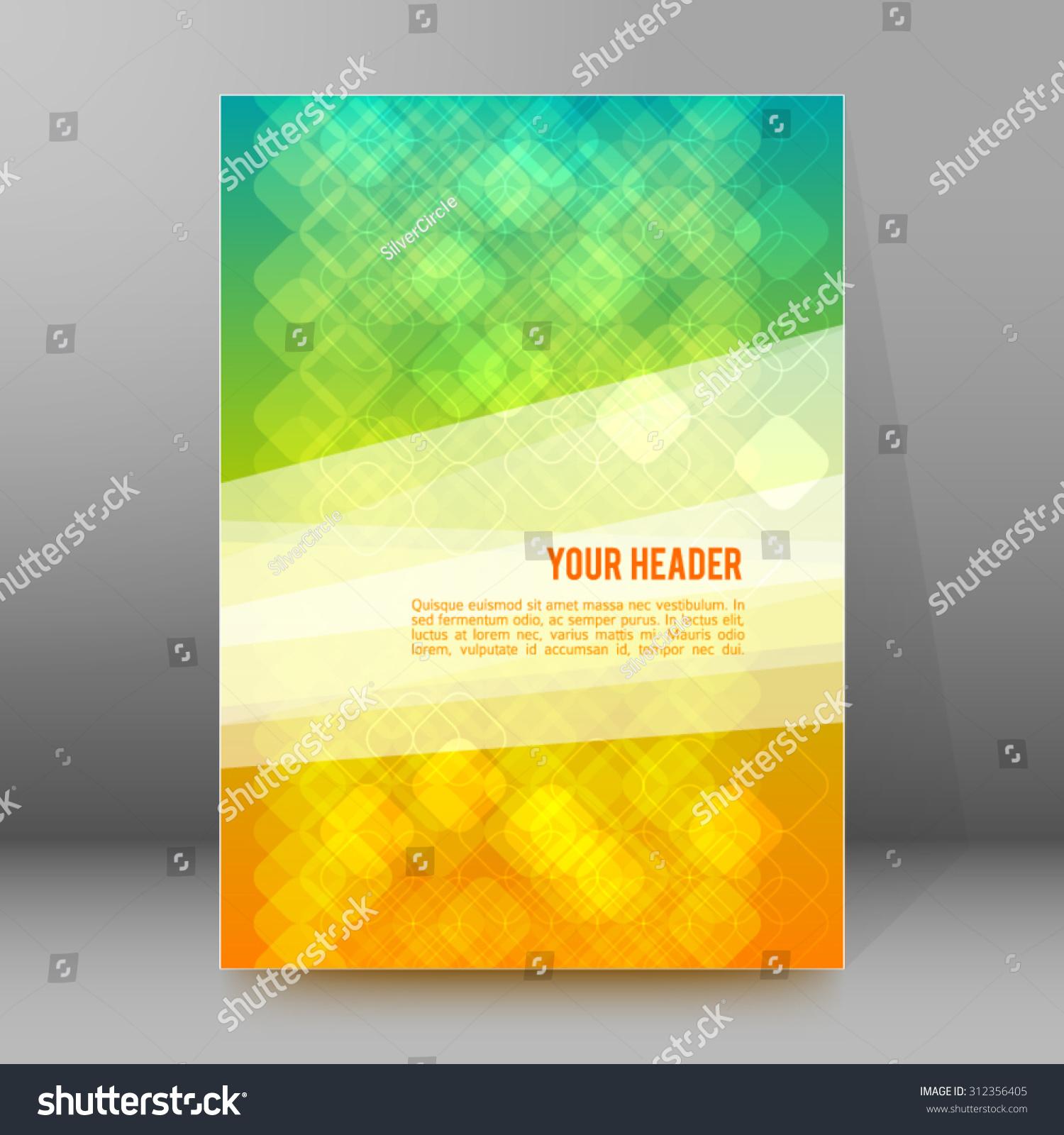 advertisement flyer design elements mesh yellow stock vector advertisement flyer design elements mesh yellow green gradient background elegant graphic mosaic bright light
