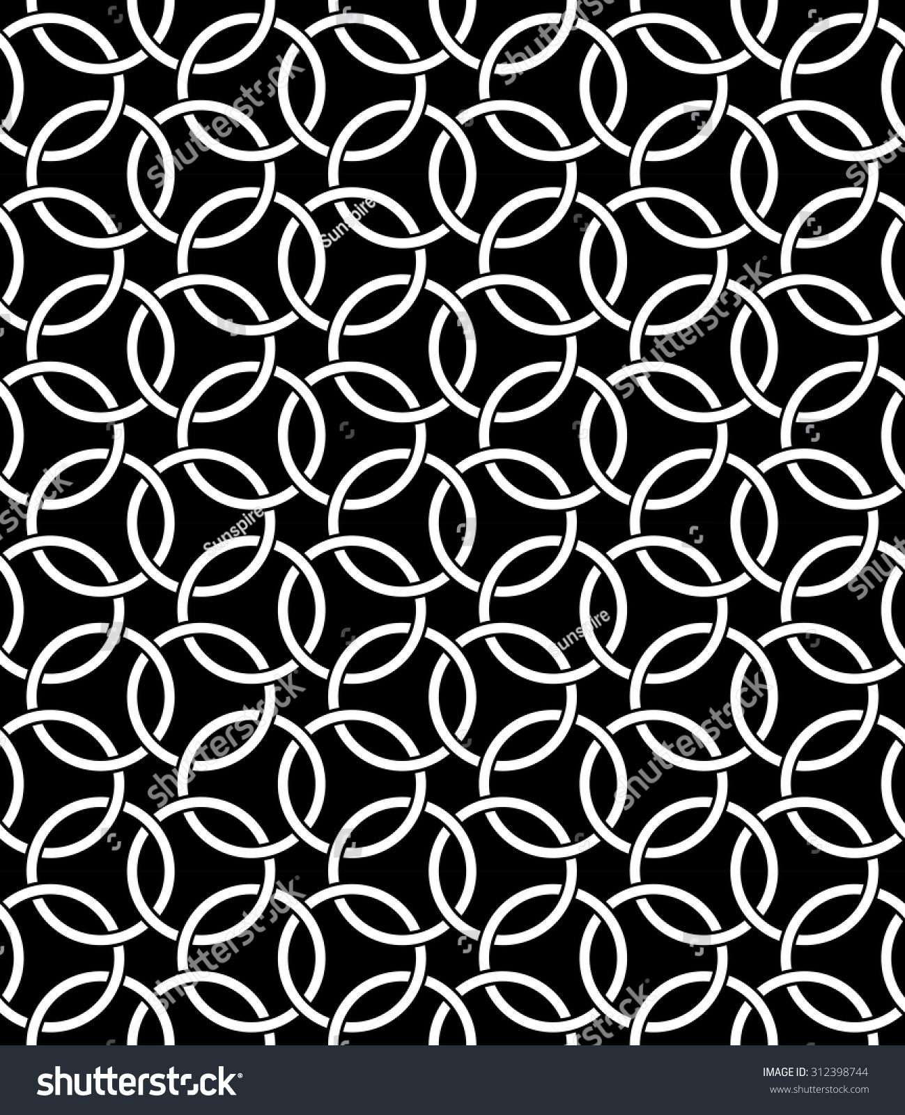 Black bed sheets pattern - Vector Modern Seamless Pattern Sacred Geometry Black And White Textile Print Stylish Background
