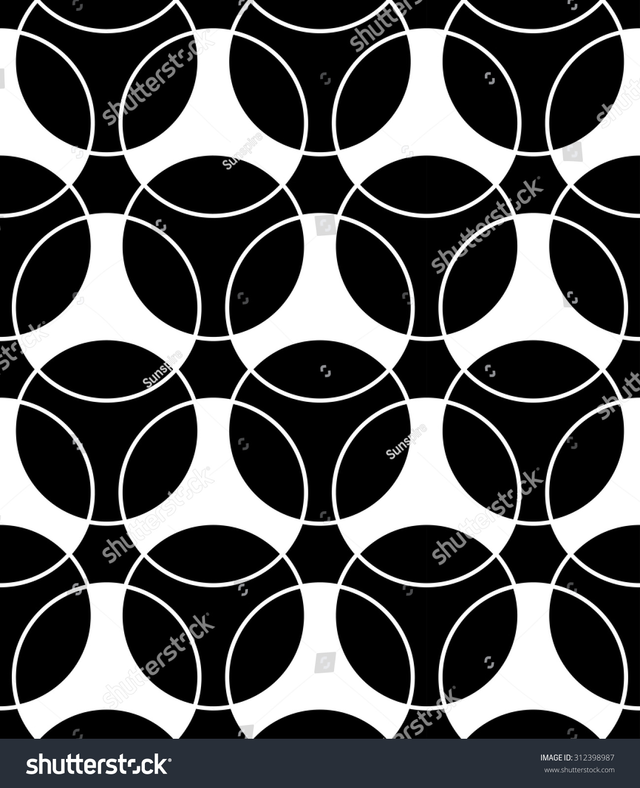 Black and white bed sheets texture - Vector Modern Seamless Pattern Black And White Textile Print Stylish Background Abstract Texture