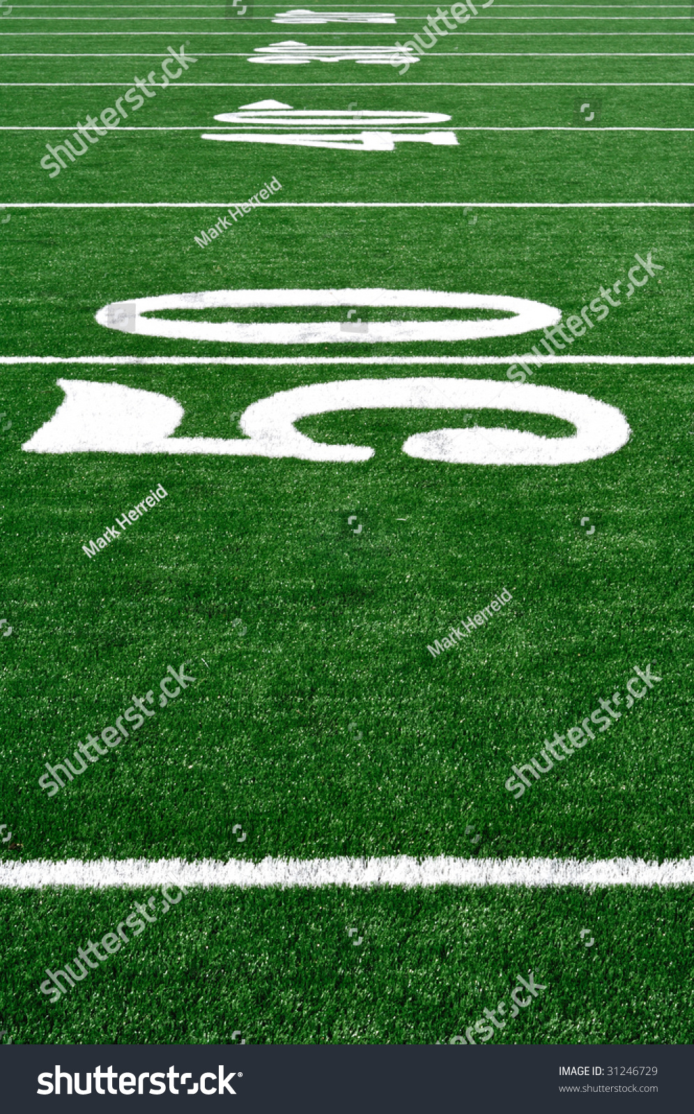 50 yard line on american football field  copy space  vertical stock photo 31246729   shutterstock
